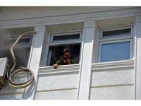 Iğdır Valiliği binasında korkutan yangın