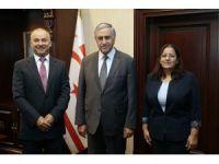Akıncı, yeni atanan Trabzon ve Antalya başkonsoloslarını kabul etti