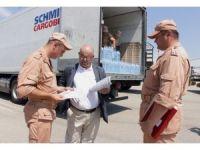Abhazya'dan Suriye'ye 12 ton su yardımı
