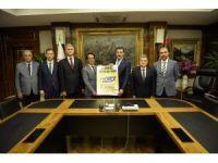 Bakan Tüfenkci, Antalya Ticaret Borsası heyetini kabul etti