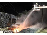 Katı yakıt üretim tesisinde bir ayda iki yangın