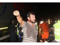 Sivas'ta zincirleme trafik kazası: 2 ölü, 7 yaralı