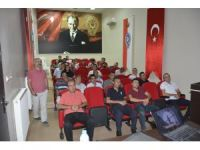 Emniyet personellerine stres yönetimi ve öfke kontrolü semineri