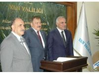 Bakan Eroğlu Van'da