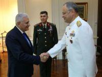 Kuvvet komutanlarından Başbakan Yıldırım'a veda ziyareti
