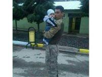 Şehit olan askerin acı haberi baba evine ulaştı