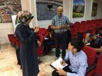 İşitme engelliler arasında umre ödüllü yarışma düzenlendi