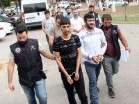 Adana'da PKK operasyonunda gözaltına alınan 23 kişi adliyeye sevk edildi