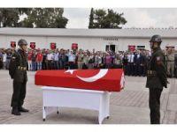 Şehit Jandarma Uzman Çavuş Abdullah Akdeniz memleketine törenle uğurlandı