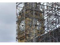 Londra'nın simgesi Big Ben sessizliğe bürünüyor