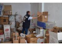 Uşak Emniyeti kıyılmış tütün satan iş yerlerini denetledi