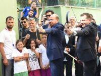 Bilal Erdoğan Balıkesir'de ok attı