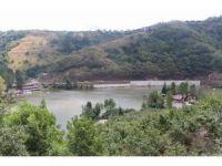 Bakan Soylu'nun talimatının Sera Gölü'ndeki beton perde yıkımı sürüyor