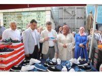 Kurban Bayramı öncesi yetimlere yardım için hayır festivali düzenlendi