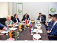 Rusya Sanayi Bakanı Yardımcısı Kalamanov, Akhisar'da