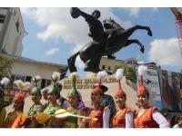 Köroğlu Festivali renkli görüntülerle başladı