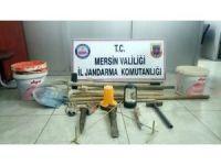 Mersin'de kaçak kazı yapan 6 şüpheli yakalandı