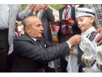 Taşköprü'de 117 çocuk erkekliğe ilk adımını attı