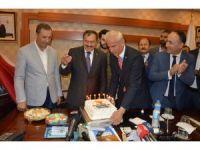Bakan Eroğlu'nun yaş gününü kutladılar