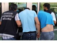 İstanbul'dan Samsun'a uyuşturucu getiren 3 kişi tutuklandı