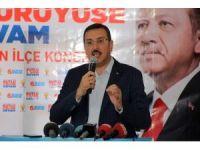"""Bakan Tüfenkci,""""Gümrük birliğinin güncellenmesini bahane ederek Türkiye'ye hesap ödetmeye çalışıyorlar"""""""