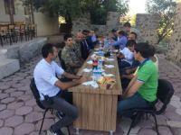 Kaymakam Dundar'dan karakol ziyareti
