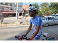80 günde 81 İli bisikletiyle gezecek