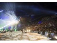 Ürdünlü ünlü şarkıcı Filistinlilere konser verdi