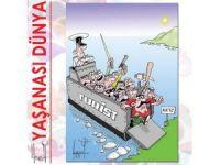 KKTC'de tepki çeken karikatür