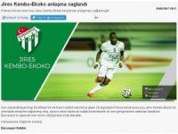 Bursaspor Ekoko'yu açıkladı