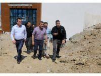 Vali Kaymak, Atakum'daki projeleri inceledi