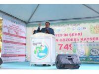 """Bakan Eroğlu: """"Kayserili çiftçilerin cebine yılda 450 milyon TL para girecek"""""""