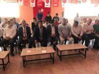 MHP Mut İlçe Başkanı Kır güven tazeledi