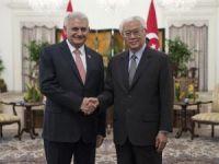 Başbakan Yıldırım Singapur Cumhurbaşkanı ile görüştü