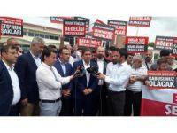 İstanbul Milletvekili Hasan Turan, belediye başkanlarıyla birlikte FETÖ davalarını takip etti