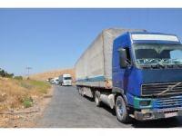 BM'nin 14 yardım tırı Suriye'ye geçti