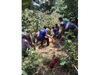 AFAD'dan inek kurtarma operasyonu