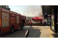 Restoranda korkutan yangın