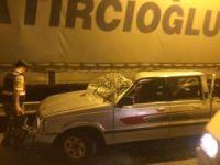 Artvin'de trafik kazası: 1 ölü, 1 yaralı