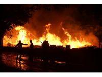 Bingöl'de korkutan yangın