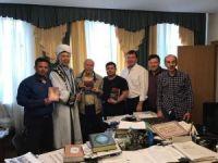 İhlas Vakfı Türk Dünyası Koordinatörü Numan Ünal Başkurdistan Müftüsünü ziyaret etti