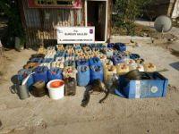 Burdur Jandarmasından kaçak motorin operasyonu