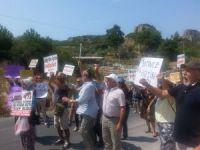 Kuşadası'nda 'jeotermal enerji santralleri' protestosu