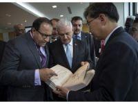 Başbakan Yıldırım, Singapur Liman İdaresi'ni ziyaret etti