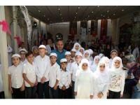 Kur'an-ı Kerime geçen öğrencilere taç giydirme töreni yapıldı