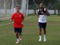Nasri, Antalyaspor ile ilk antrenmanına çıktı