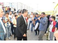 Başkan Asya, Muşspor'un sevincine ortak oldu