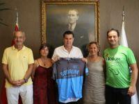 Bodrum Bisiklet Kulübünden Başkan Kocadon'a ziyaret