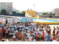 Silifke'de minik yüzücüler sertifikalarını aldı