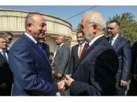 Dışişleri Bakanı Çavuşoğlu Irak'ta mevkidaşı Caferi ile görüştü